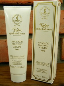 Krem do golenia w tubie Avocado Taylor of Old Bond Street. 75 ml.