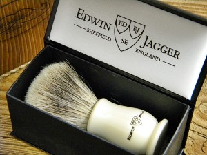 Pędzel do golenia Edwin Jagger, linia Chatsworth, model IVCSBBB, Best Badger