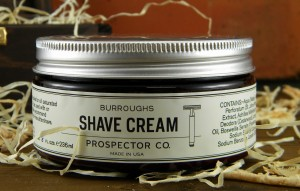 Krem do golenia Prospector Co.BURROUGHS SHAVE CREAM 236 ml