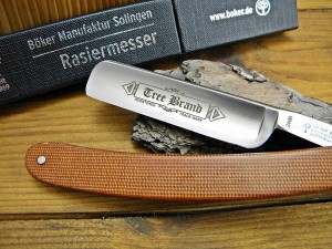Brzytwa Boker Tree Brand Brown Canvas Micarta