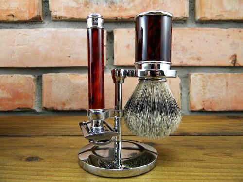 Luksusowy zestaw do golenia