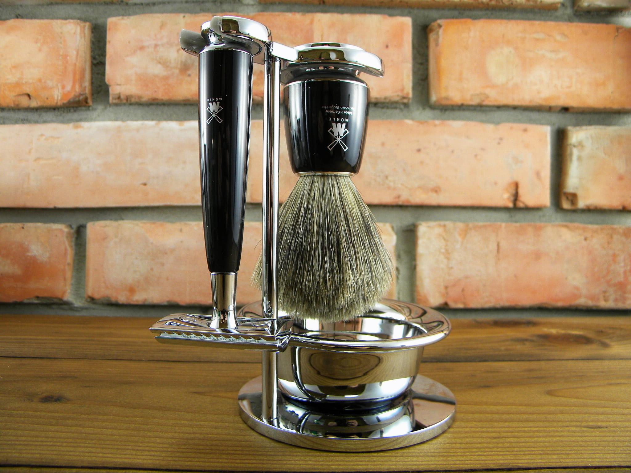 Zestaw do golenia MÜHLE RYTMO S81M226SSR czarna żywica