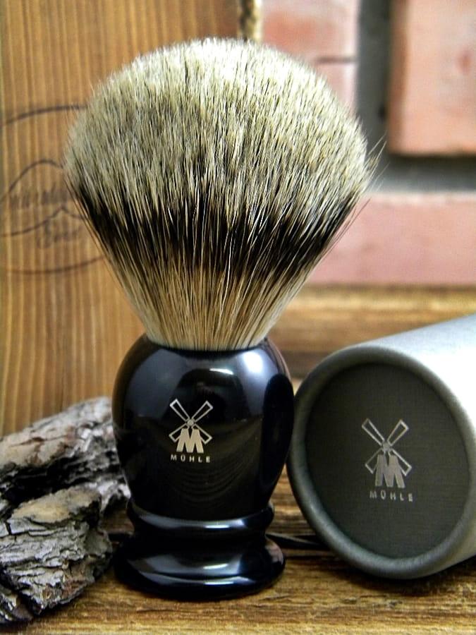 Pędzel do golenia Muhle, Silvertip rozm.L, 093K256