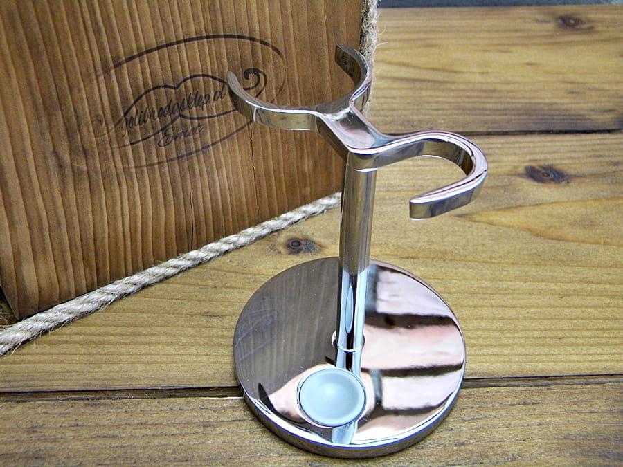 Uniwersalny stojak na pędzel i maszynkę/brzytwę do golenia MUHLE RHM UNI